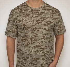 Canada - Code 5 Digital Camo T-shirt - Color: Sand Digital