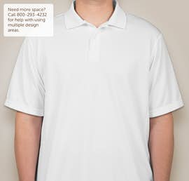 Champion Double Dry Performance Polo - Color: White
