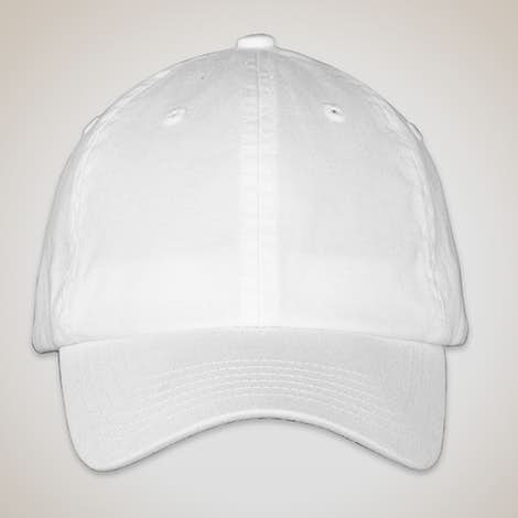 Valucap Youth Bio-Washed Hat - White