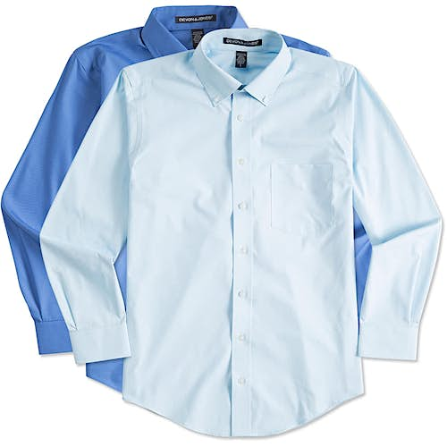 Custom Button Down Shirts - Design Button Down Shirts Online
