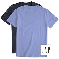 T shirts custom t shirts make your own design customink for Gap usa t shirt